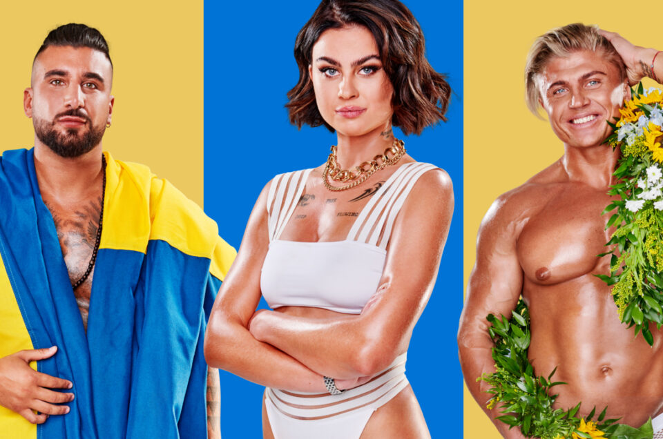 "Genri Teivald i ""Celebrity Ex on the beach"" 2020"